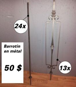 Barotin en métal