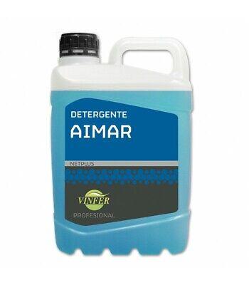 Detergente líquido AIMAR profesional. Botella 5 Lt.