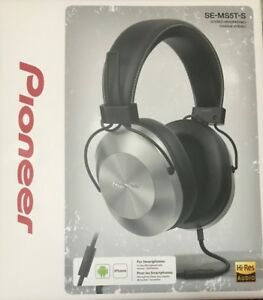 Pioneer Hi-Res Over-Ear Stereo Headphones SE-MS5T(S)-Sealed Box