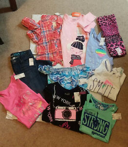 Gymboree & Justice Outfits (Size 5)