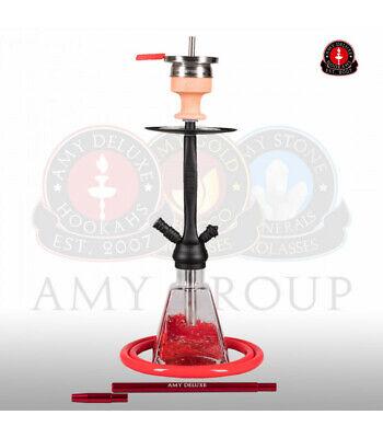 Amy Deluxe 038-BK Shisha RED