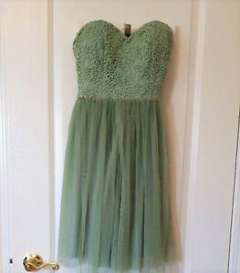 Green Prom/ Graduation Dress