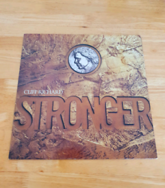 Cliff Richard Stronger Original Vinyl L.P