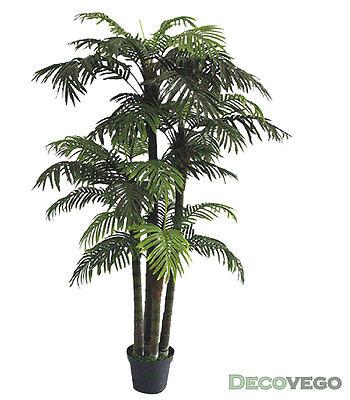 Palmizio Palma Areca Albero Pianta Artificiale 180cm Decovego