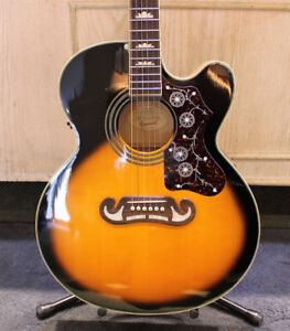 EPIPHONE EJ-200CE/VS ACOUSTIC GUITAR