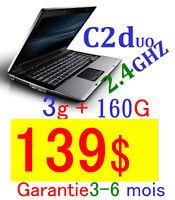high speed – high storage 15.4 core2duo 2.4ghz/3/250g/dvdrw 129$