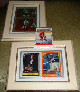 Framed Pictures Upper Deck Score Rookie Cards Bret Eric Lindros