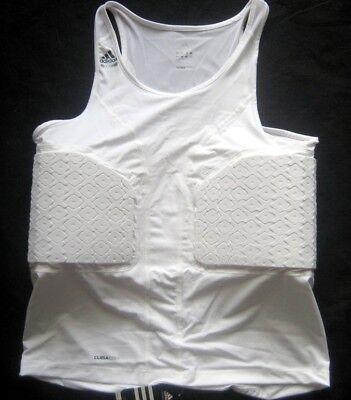 ADIDAS Pad Tank Basketball Techfit Shirt Tank Weiß Gr. 3XL