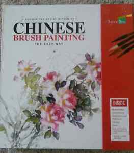 Brand new not even opened Chinese brush painting set