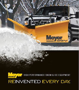 Blowout Sale Meyer Plows & Spreaders-all stock @ 5% over cost!