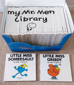 Kids Books - Mr Men Book Library Collection 48 Books