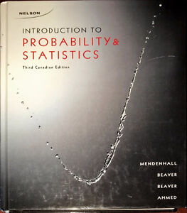 Introduction to Probability and Statistics 3rd Canadian Edition