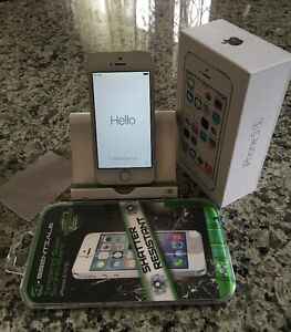 APPLE IPHONE 5S 16GB SILVER BELL  8/10 CONDITION $300