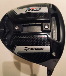 2018 Taylormade M3 Driver - 440cc (rare)/ stiff flex/ 9 degree