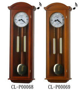 "40"" Tall Deluxe Solid Wood Cherry Pendulum Clock Westminster 4*4"
