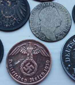 12 European coin from XVIII - XX century one silver from 1784 #1