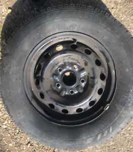 4 new tires with rims for Toyota 5 bolt  new
