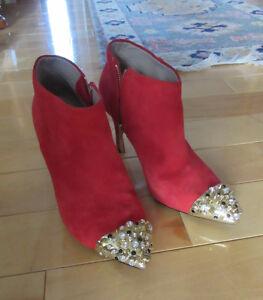 Zara Genuine Sued Boots St. John's Newfoundland image 1