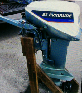 Evinrude 9.9 and 14' boat