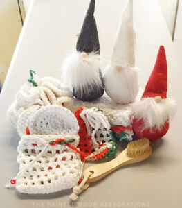 100% Cotton Christmas Themed Spa Set (11 Piece Set)