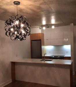 Must See Condo in Griffintown (1BED /1 CAC) Downtown View