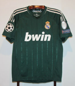 ADIDAS 2012 REAL MADRID SOCCER JERSEY SIZE ADULT SMALL