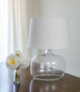 Table Lamp with glass base by Zara