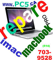 REPARATIONS POUR iMAC/ MAC / MACBOOK (PRO / AIR) TOUTE MACHINE