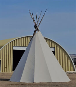 20ft Cree Tipi (Teepee) canvas