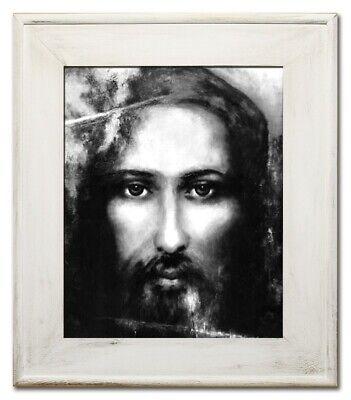 Religion Jesus Christus Handarbeit Ölbild Bild Ölbilder Rahmen Bilder G95031