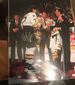 Ray Bourque Signed Autographed 16x20 Photo Boston Bruins w. COA