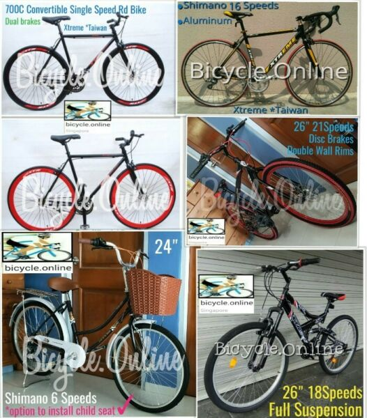 """Brand new 26"""" MTBs from $159"""