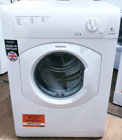 Brand New 8kg Hotpoint Vented Tumble Dryer - Free local delivery