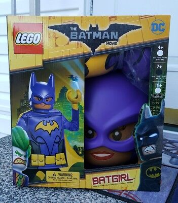 LEGO Batman Movie Costume - Batgirl Superhero Classic - Girl Medium (7/8) New](Batgirl Classic Costume)