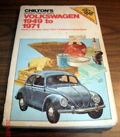 Volkswagen - 1949-1971 Chilton's Repair and Tune Up Guide