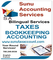 Income Tax Return,  Bookkeeping and Payroll  Services