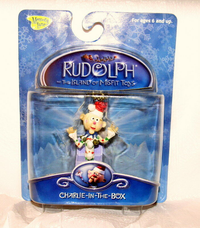 Memory Ln. Rudolph The Island Of Misfit Toys Clip-On Ornament Charlie In The Box