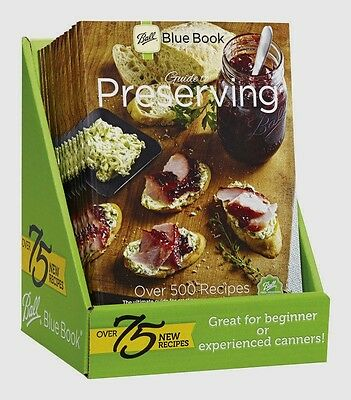 New! 37th ed BALL Blue Cook Book Guide to Preserving CANNING Cooking 500 Recipes