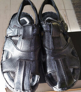 Leather Sandals & Joseph & Feiss Mens Dress Shoes Size 10.5 - 11