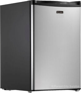 EMERSON 2.7 CU FT BAR FRIDGE - Unique Write-on Dry Erase Door !! London Ontario image 1