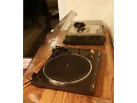 Vintage Retro 1970s Technics SL-B210 Turntable Deck Record Player Great Working Order & 3 belts