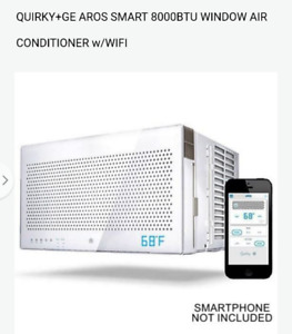 GE 8000 BTU Window Air Conditioner w/ built in wifi