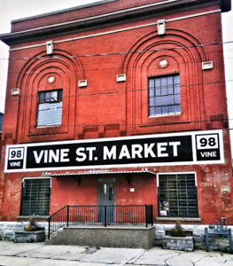 Artist Studio, Event & Market Space Available Downtown Hamilton