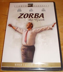 DVD -  ZORBA THE GREEK