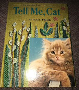 "Big Golden Book Vintage 1971 ""Tell Me, Cat"" Clean Copy"