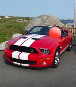 2009 Ford Shelby GT500 Mustang Convertible. 5.4L 630hp.
