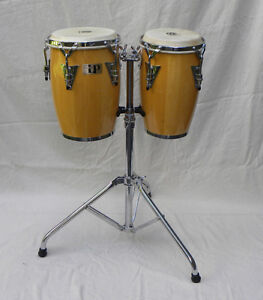 LP Junior Congas with stand