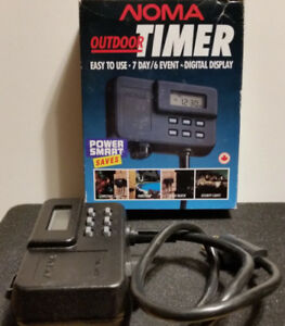 Outdoor Timer 1875 watts good for almost anything, weatherproof