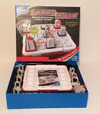 THINKFUN Laser Maze Beam-Bending Logic Tabletop Board Game (Laser Maze Game)