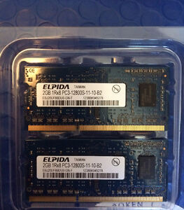 Two 2GB RAM cards